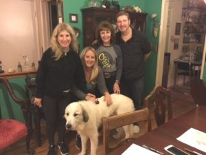 A Merry Christmas indeed for our Great Pyrenees Tundra!