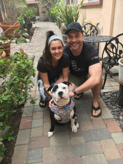 Lilith has a great new Mom and Dad to take her on lots of walks