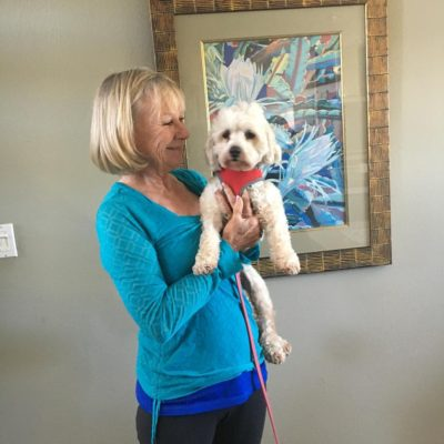 Rita's new Mom could not be happier! She has a new pup to love