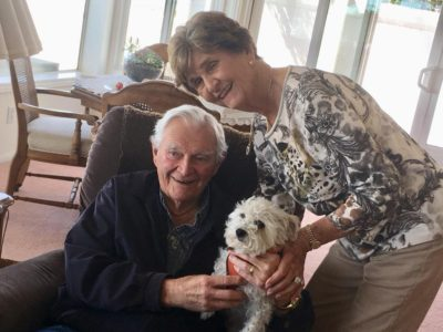 Lorna has found a lovely home with a lovely couple in Rancho Palos Verdes
