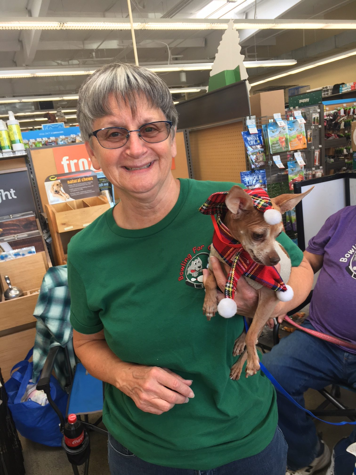 Another foster success! Bolt's new name is Tito