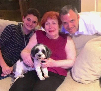 Ponch is now part of a 3 generation family! More to spoil him