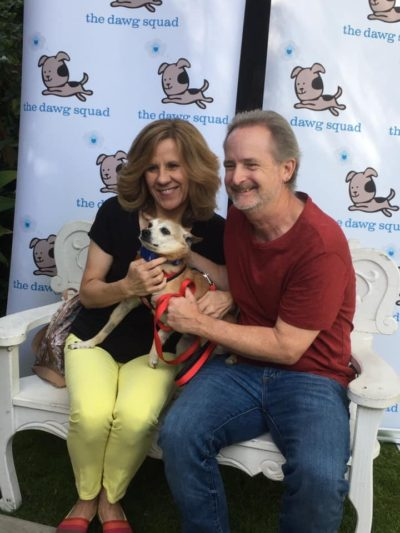 Yodel's new family searched for many months to find the perfect dog. Yodel is very happy they chose him!