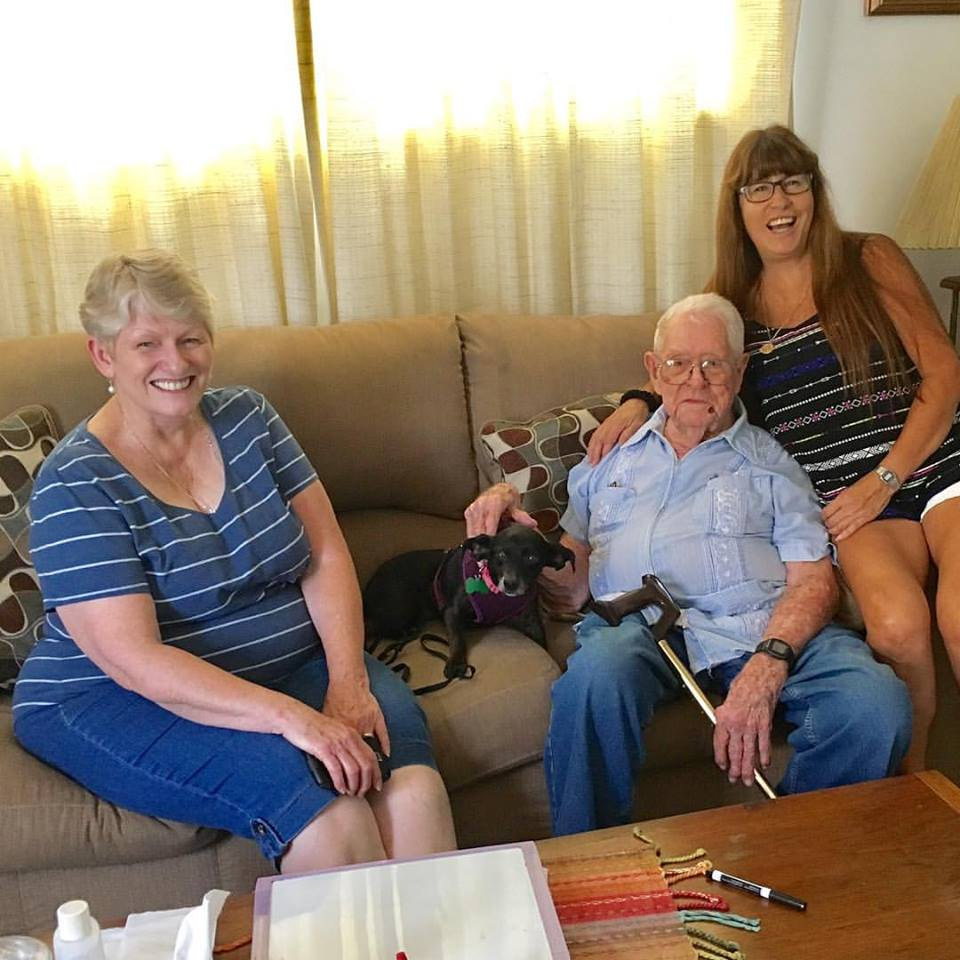 Our Golden Oldie Jackie has a new extended family