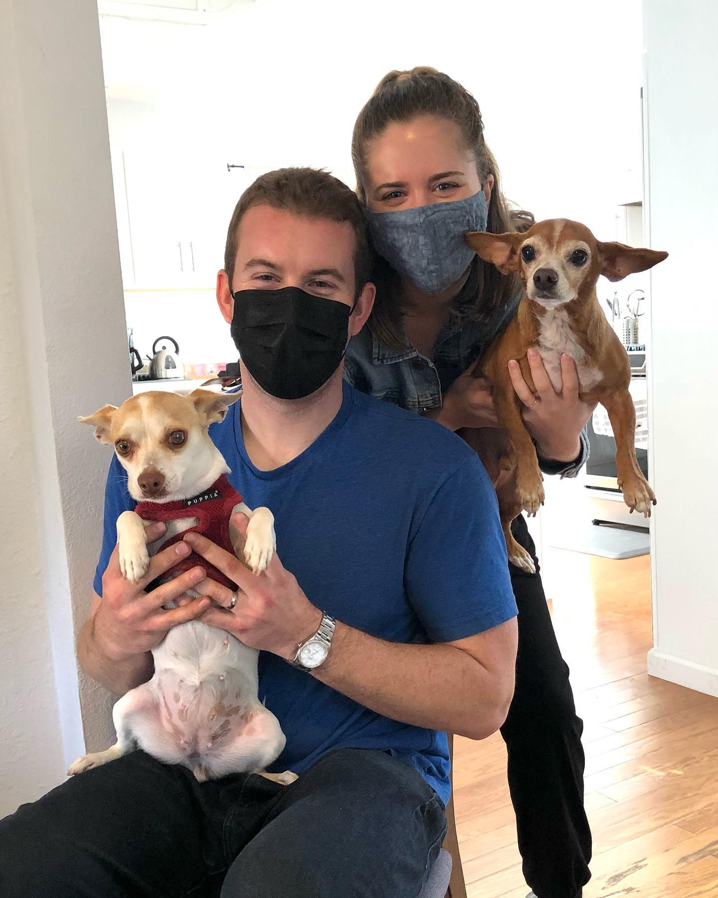 Birdie fit right into this Dawg Squad family It's great when our adopters come back for seconds!