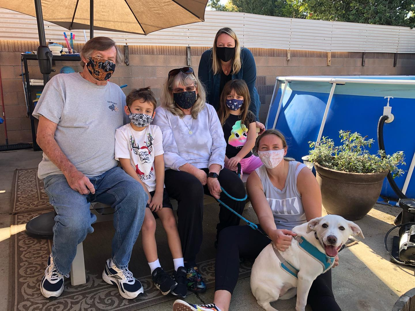 Heidi needed this large family to keep her busy!