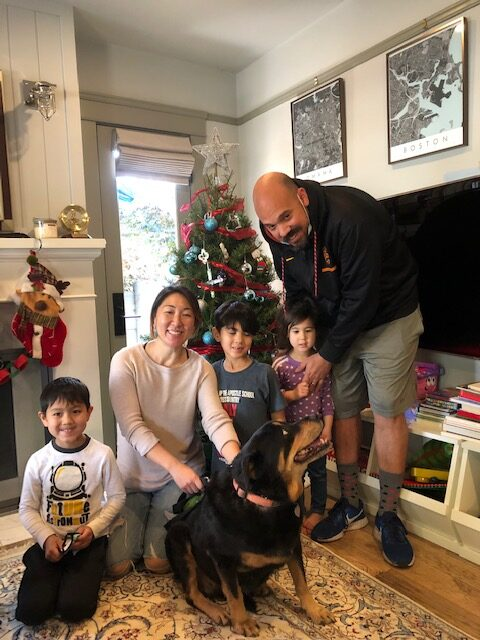 Best Christmas ever for this family and Stacy!
